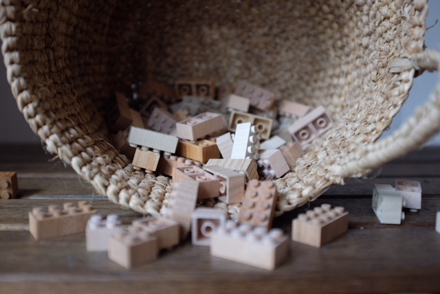 Wooden Bricks (60 Pieces)